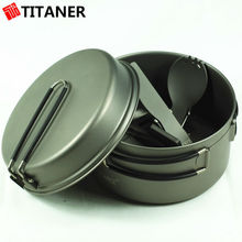 Top Rated Titanium TC4 Walking Kitchen Quality Cookware Cookware Induction