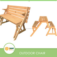 Outdoor Folding Wooden Picnic Table furniture