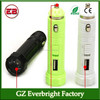 Newest auto accessories! car Led Flashlight Torch Light Lamp+ Car Charger Led Flashlight Holster