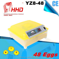 48 eggs Reasonable price with CE certificate automatic quail thermostat for hatching