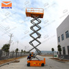 self drive scissor lift table for window cleaning repair