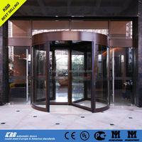 laminated glass revolving doors