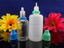 Hot wholesale 10ml 15ml 20ml 30ml needle tip dropper bottles with childproof & tamper evident seal cap