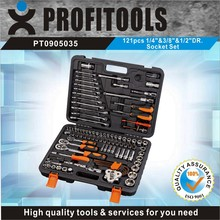 "121pcs 1/4""&3/8""&1/2"" high quality tool kit for motorcycle"
