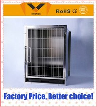 china wholesale Large stainless steel dog kennel / dog cages, welded wire dog kennel / pet enclosure