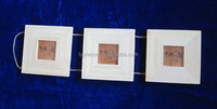 3 conjoined folding unfinished pine wood photo wooden frame best seller