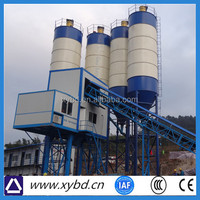 High productive approved new design concrete batching plant/station hzs105k