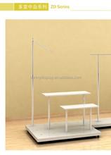 ZB series DIY metal display retail store fixture