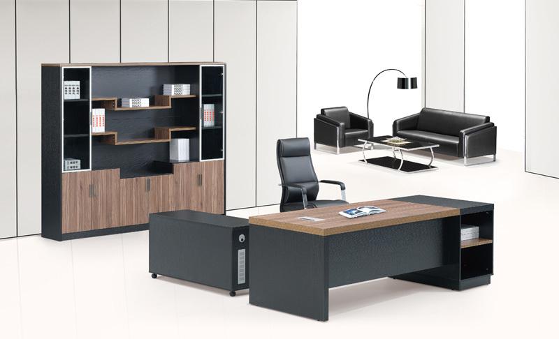 2014 novo design de luxo moderna escrit rio de madeira for Fotos de muebles de oficina modernos
