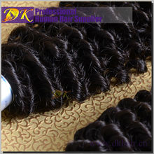Top Selling market cheap grade 7a unprocessed peruvian afro jerry curl hair weave