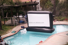 hot-sale swimming pool inflatable movie screen