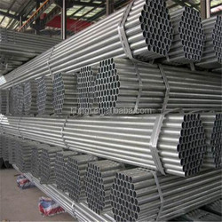Green house pre galvanized pipe/pre galvanized round pipe/gi tube
