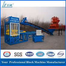 Semi automatic Qt8-20 Concrete Hollow Block,Solid Brick,Interlocking Paver Making Machine