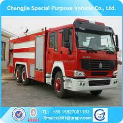 HOWO 6*4 fire trucks for sale in europe