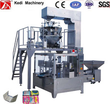 China manufacture Microwave popcorn premade pouch-given rotary packing machine price(GD6-200D)