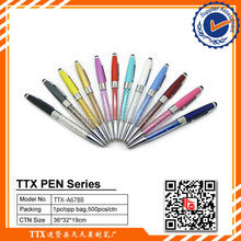 Hot selling crystal bling pen promotional/crystal ball pen with crystal