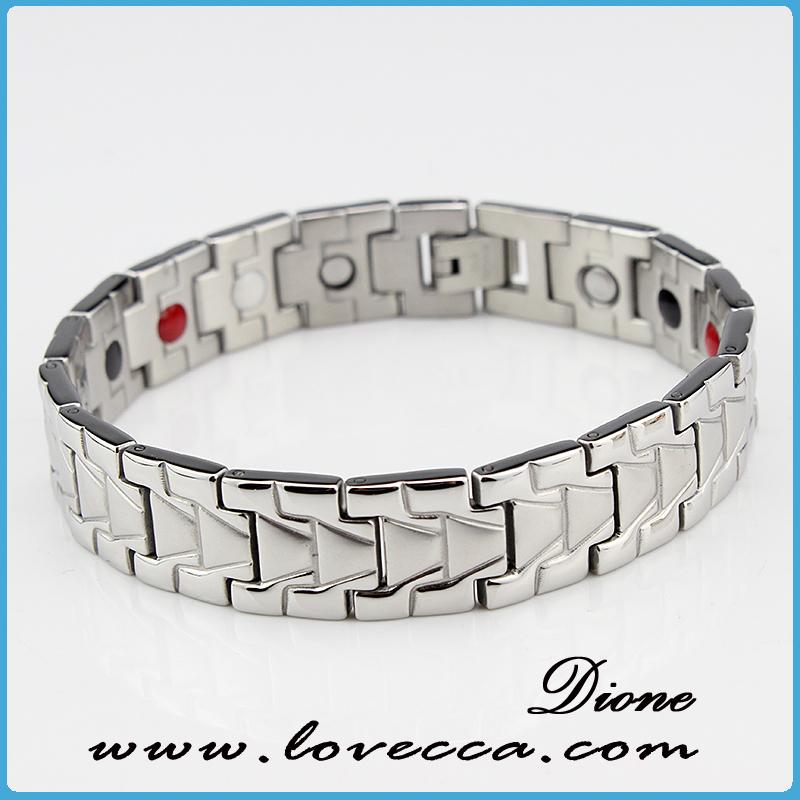 Vendita calda magnete al neodimio bracciali uomo, braccialetto energia prezzo all'ingrosso, padre energia braccialetti regalo