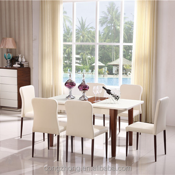 2015 extension dining table new design wooden dining table for Latest dining table designs 2015