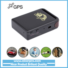 Vehicle Real Time personal Tracker GPS/GSM/GPRS Car Vehicle Tracker TK102 MINI TRRACK rastreador veicular + Battery+Retail box