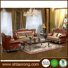 antique living room leather sofa sets