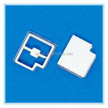 mumetal shielding cover used for pcb/ stamping shielding case/ stamping bending screening can
