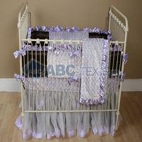 Minky Swirl Baby Bedding/Professional in Minky fabrics Export to USA, AU, EUROPE, Malaysia