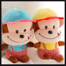 cute stuffed monkey plush toys for amusement park