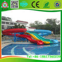 Top quality&Newly style fiberglass water slide for aquatic park for hotel JMQ-5408