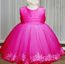 baby girl arabic wedding dress party dresses QGD-2005