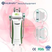 Factory cryolipolysis cavitation tripolar rf fat freeze machine cellulite reduction
