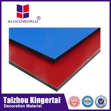 Alucoworld fire retardant solid wall decorative board interior&exterior wall decoration ACP composite panels wall board