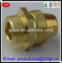 high quality good price custom brass bush,brass reducing bushing,hex flange threaded brass male female bush