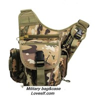 Leisure Riding Mens Sports Single Strap Shoulder Bag military nylon Bag Military Saddle Bags