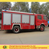 Chengli factory dongfeng 4x2 water fire truck 7cbm inflatable fire truck