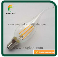 4w 400lm Filament Led Flame Tipped Candle Light