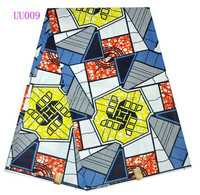african traditional wax fabric/latest wax dress style/wax fabric with traditional design