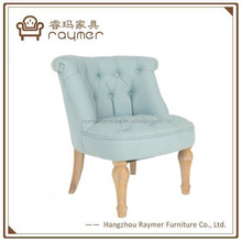Antique European Style Light Blue Child Sofa