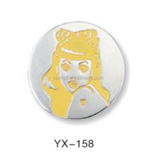 custom zinc alloy/gold plating medal logo logo coin