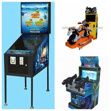 coin operated kids electronic racing motorcycle simulator shooting arcade game machine pinball for children game center 9011