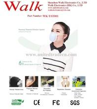 soft silicone anti smog masks, anti pm2.5 masks, High filtration anti air pollution masks