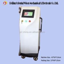 Vertical e light ipl rf beauty machine for hair remove