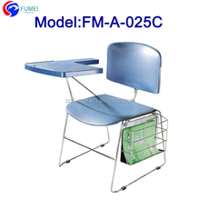 FM-A-025C Best price high school furniture classroom chair with tables