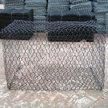 Verzinktem eisendraht stein gabionen fenceing, draht gabione box Fechten/sechseck pflastersteine