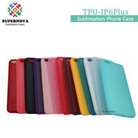 Blank TPU Phone Cases, Custom Printing Cover for IP6 Plus