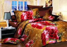 China supplier comforter 3D bedding set