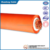 super flexible welding cable rubber insulated flexible cable