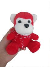 Stuffed Animal Plush Toys Red Monkey