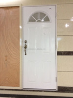 Good Quality used commercial glass entry sunburst doors for sale