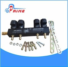 Lowest price high quality made in china sales cng Fuel injector Rails injectors lpg gas