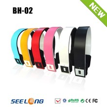Wireless headset bluetooth earphone with mobile phone accessory
